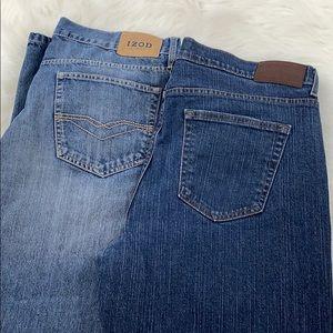 men's denim jean 38 x 30 2 pair bundle